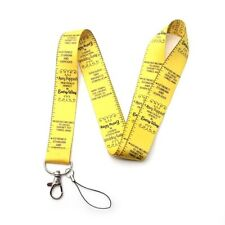Mary Poppins Cute Yellow Measuring Tape Lanyard Practically Perfect in Every Way