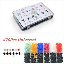 470pcs Auto Car Push Retainer Pin Rivet Trim Clip Panel Moulding Assortments
