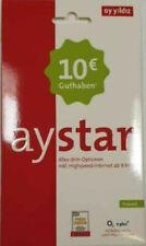 Ay Yildiz Registriert Prepaid SIM Karte Aktiviert mit 10? Guthaben ANGEBOT !!