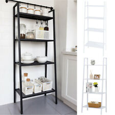 Ladder Shelf Display Unit Bookcase Book Stand Library Cabinet  Storage Rack