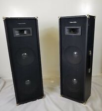 VINTAGE REALISTIC PA-800 SPEAKERS Rock Band concert 70s