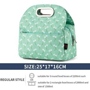 Lunch Bag Insulated Lunch Box Leak Proof for Picnic Work School Outdoor