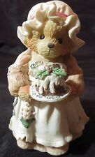 "Cherished Teddies Mrs. Cratchit ""A Beary Christmas And A Happy New Year!"" 617318"