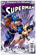 1)SUPERMAN v2 #211(1/05)AZZARELLO/JIM LEE(JUSTICE LEAGUE/WONDER WOMAN)CGC IT(9.8