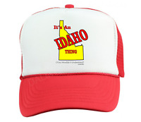 Trucker Hat Cap Foam Mesh It's An Idaho Thing You Wouldn't Understand State