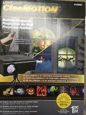 GEMMY LIGHTSHOW CINEMOTION 10 HALLOWEEN 10 CHRISTMAS HOLIDAY PROJECTOR ????????