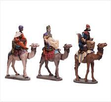 Figura Belen J.L.MayoSerie 11 cms 3 Reyes Magos-Melchor Gaspar Baltasar BEL955