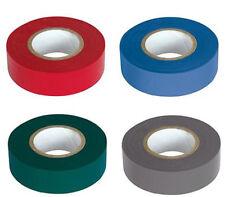 Isolierband 10m x 15mm wahlweise rot blau grün grau Klebeband