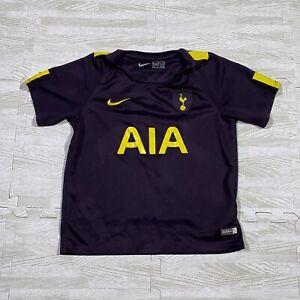 Boys Nike Tottenham Hotspur Third Shirt M 5-6 Yrs Football Spurs AIA Son 2017 18