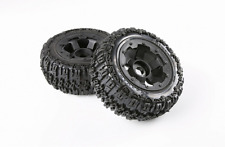 Rear knobby tyres set for 1/5 hpi baja 5t rc car parts
