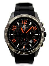CASIO EDIFICE Men EFR-516PB-1A4 Black Dial 3subdial Resin Band