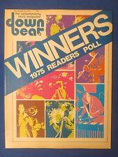 DOWN BEAT MAGAZINE DECEMBER 18 1975 POLL WINNER PHIL WOODS BERNIE SENENSKY OSCAR