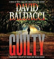 New Audio Book The Guilty by David Baldacci on CDs Abridged Great Story