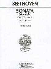 """Sonata in C# Minor, Op. 27, No. 2 (""""Moonlight"""") Complete (Sheet Music)"""
