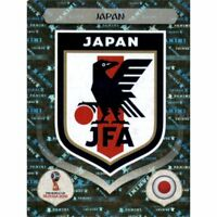 Panini WM 2018 652 Japan World Cup WC 18Wappen Logo Glitzer Foil