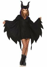Leg Avenue Cozy Villain Maleficent Costume (X-Large, Black)