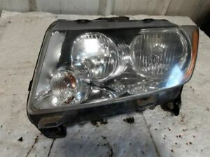 Driver Headlight Halogen Without Projector Fits 11-14 COMPASS 1255490