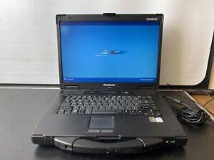 "Panasonic Toughbook CF-52 Laptop 15.4"" Core 2 Duo 2GB / 120GB SSD Windows XP"