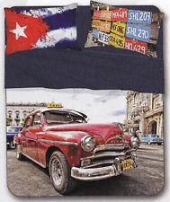 Completo Sábanas, Colcha. Individual, 1 Plaza. Riviera, Cuba. Impresión Digital