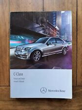 MERCEDES C-CLASS W204 (2011 - 2015) Owners Manual / Handbook