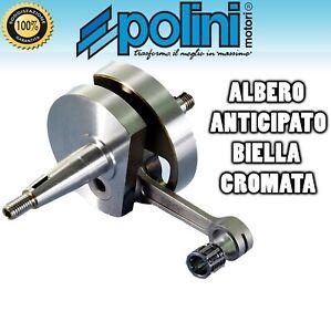 ALBERO MOTORE POLINI FOR RACE CONO 19 ANTICIPATO VESPA 50 SPECIAL L R N -PK 50 S