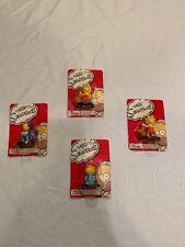 the simpsons figures lot Of 4/bartman/Maggie/2 Lisa