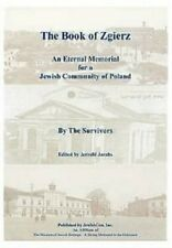 The Book of Zgierz - An Eternal Memorial for a Jewish Community of Poland by Jew