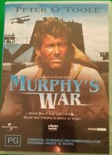 MURPHY'S WAR 1971 DVD Movie Starring Peter O'Toole