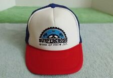 Surfercross Trucker Baseball Hat Surfing Motocross Toyota Mesh Red 2015