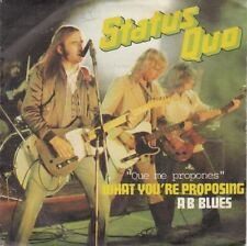 "STATUS QUO - ¿ Que me propones ? - r@re Spanish 7"" single 45 Spain 1980"