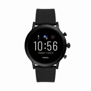 Fossil Gen 5 Men's Touchscreen Smart Watch in Black Water Resistant - 44 mm