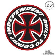 Independent Truck Company Speed Kills Skateboard Sticker 2.5in