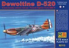 RS Models 1/72 Dewoitine D-520 # 92113