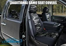 TRADITIONAL URBAN CAMO CUSTOM FIT SEAT COVERS FRONTS for FORD F150