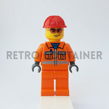 LEGO Minifigures - 1x cty132 - Construction Worker - Town Omino Minifig Set 5642