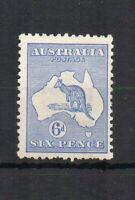 Australia 1915 6d Kangaroo Die II MH