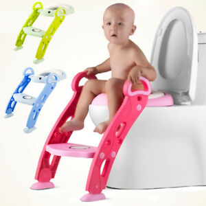 Baby Step Stool, Toddlers & Kids Potty Training Non-Slip Adjustable Height Seat