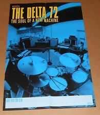The Delta 72 The Soul of a New Machine Tour Poster Original Promo 14x22