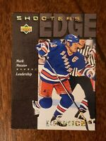 1994-95 MARK MESSIER UPPER DECK ELECTRIC ICE PARALLEL INSERT NEW YORK RANGERS