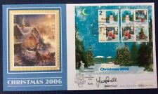 Benham 7.11.2006 Christmas FDC M/S, York, Signed SUSAN POWELL, BBC Weather girl