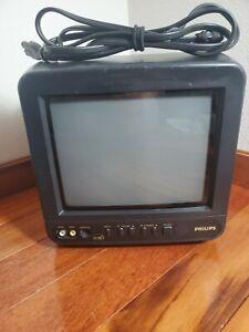 "Vintage 9"" PHILIPS AC/DC CRT Television Model PR0935B401"