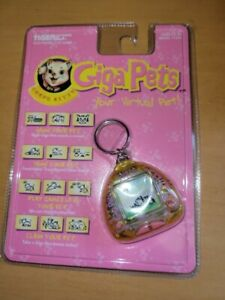 Giga Pets Compu Kitty: Special Gold Edition (1997) Model 71-612