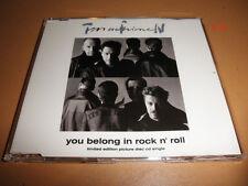 TIN MACHINE david bowie band SINGLE cd YOU BELONG to ROCK N ROLL hammerhead