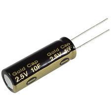 Elko Panasonic HZ 10F 2,5V Gold-Cap Kondensator Radial Capacitor 854983