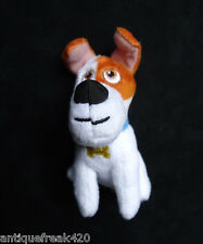2016 McDonald's-The Secret Life of Pets Max Dog Plush Happy Meal Toy