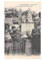 CPA CONGO FRANCAIS BRAZZAVILLE LA PRIERE AUX PIEDS DE N.D.DE LA MERCI