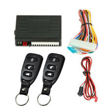 Universal Car Door Entry System Locking Remote Control Central Keyless Lock Kit✈
