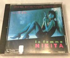 Various Artists : La Femme Nikita: Original Motion Picture CD 1990 Eric Serra