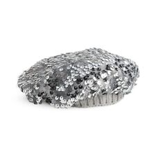"""American Girl Truly Me Silver Sparkle Beanie Hat For 18"""" Dolls"""