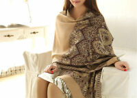 New Women's Fashion 100% Cashmere Pashmina Soft Warm Wrap Shawl Scarf